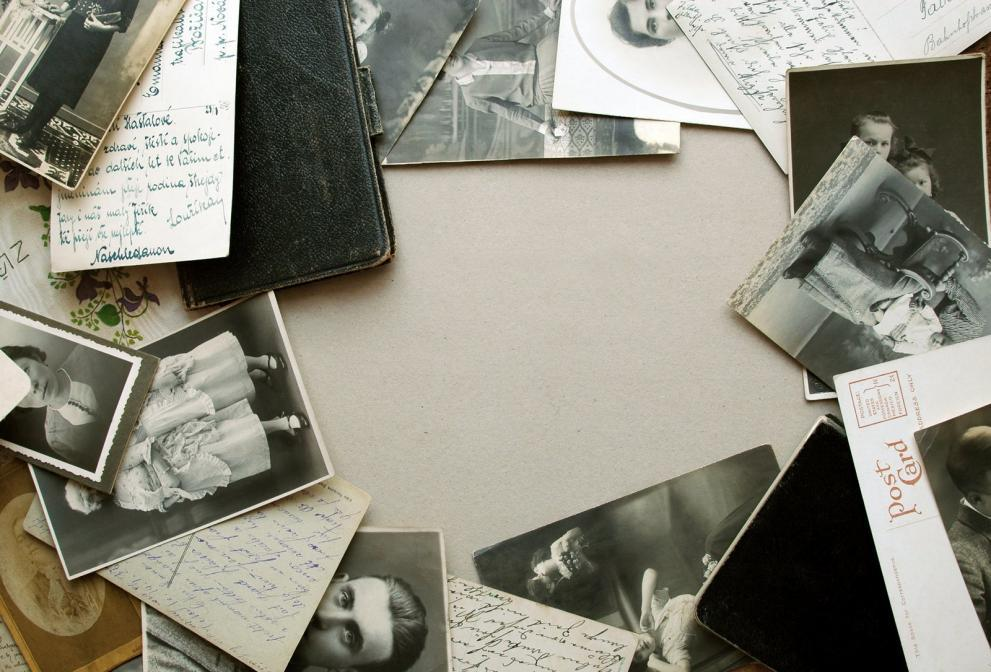 your desk is a great place to fix old photos