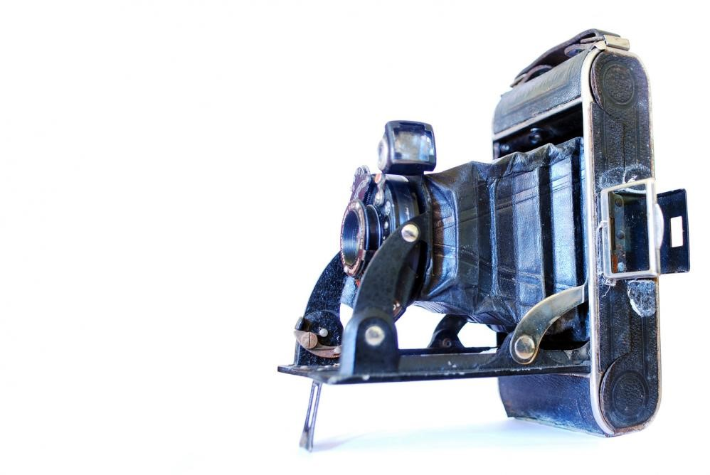 image of an old camera