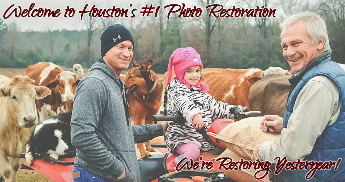 photo restoration near me in houston - homepage image