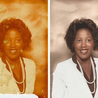 Color Cast Removed In Photo Restoration Services