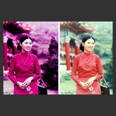 Color Cast Photo Refinished by Photoancestry.com