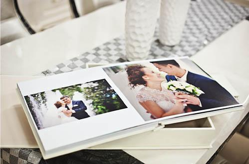 wedding album modern
